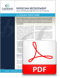 Cassling Physician Recruitment White Paper