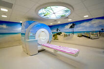Labette Health Beach-themed MRI