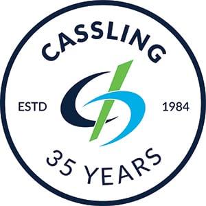 Cassling - 35 year Anniversary logo
