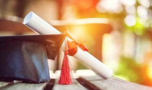 Diploma and Graduate Cap