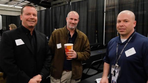 Ed, Joe and Kevin