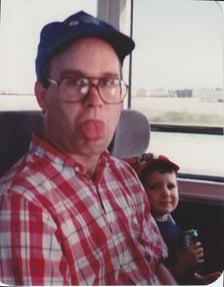 Jerry Glenn making a funny face