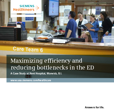 Maximizing Efficiency and Reducing Bottlenecks in the ED