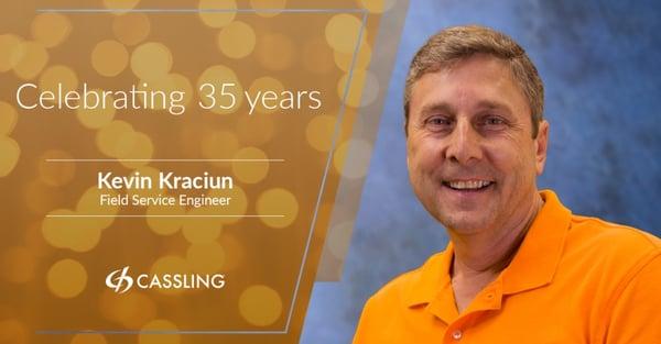 Kevin Kraciun 35 Years