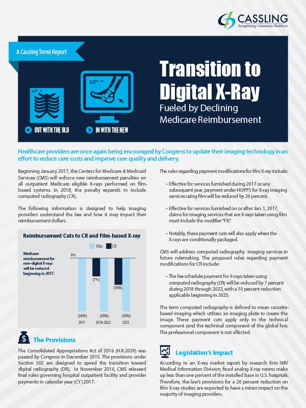 Transition to Digital X-ray Trend Report