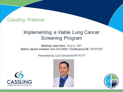 Implementing a Viable Lung Cancer Screening Program
