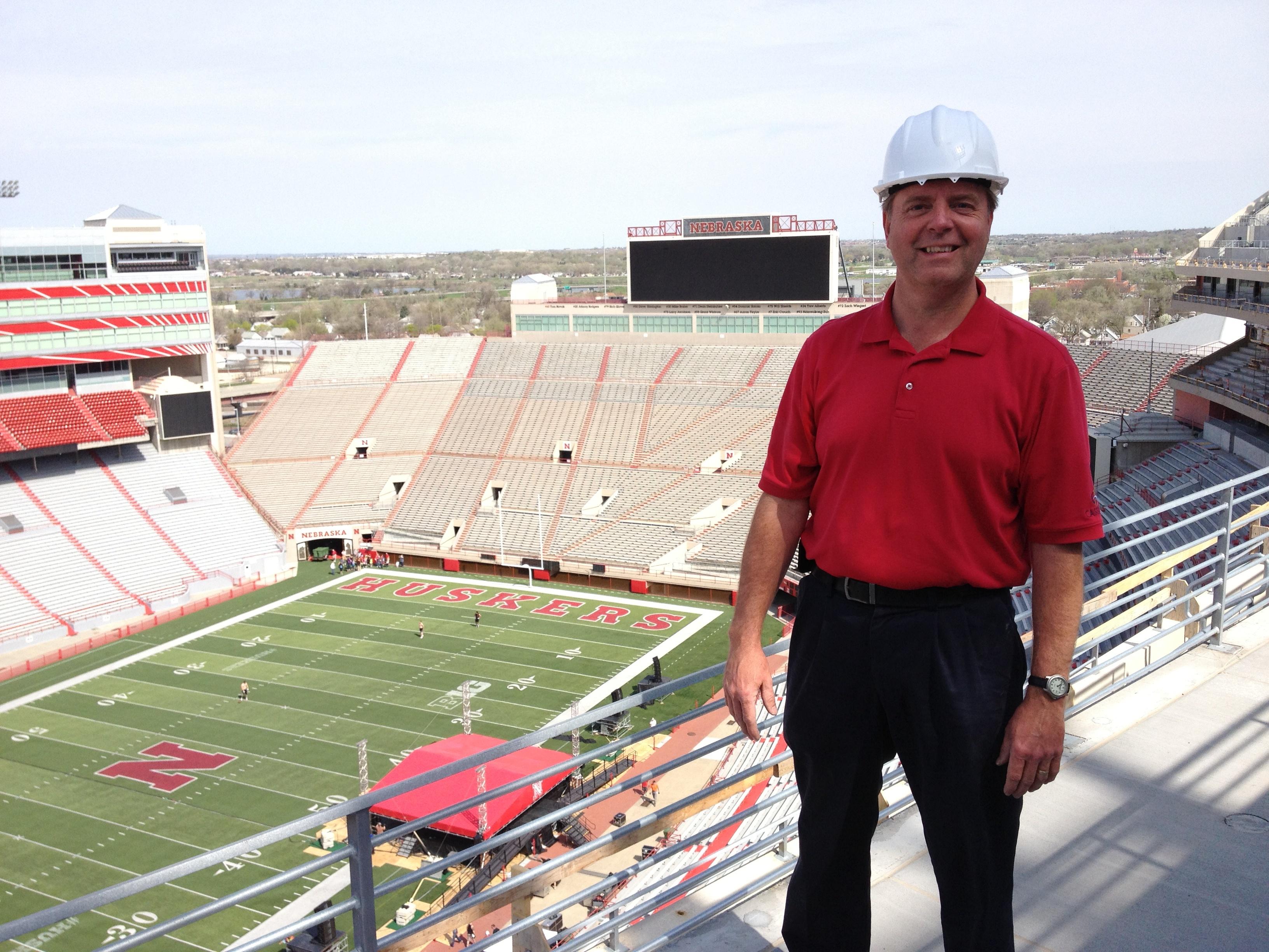 photo Rod R at Memorial Stadium