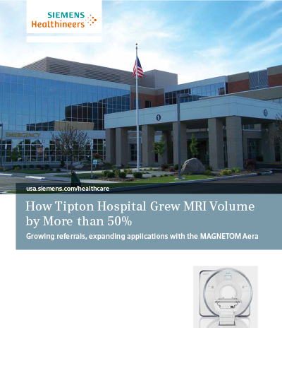 How a Critical Access Hospital Grew MRI Volume by More Than 50%