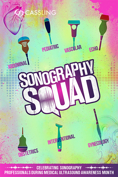 Cassling Sonography Squad Poster