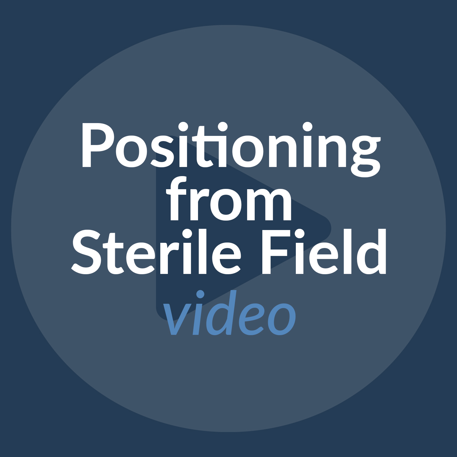 Cios Spin Positioning from Sterile Field