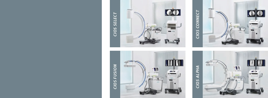 Siemens' new Cios mobile C-arm family can handle every clinical application and budget.